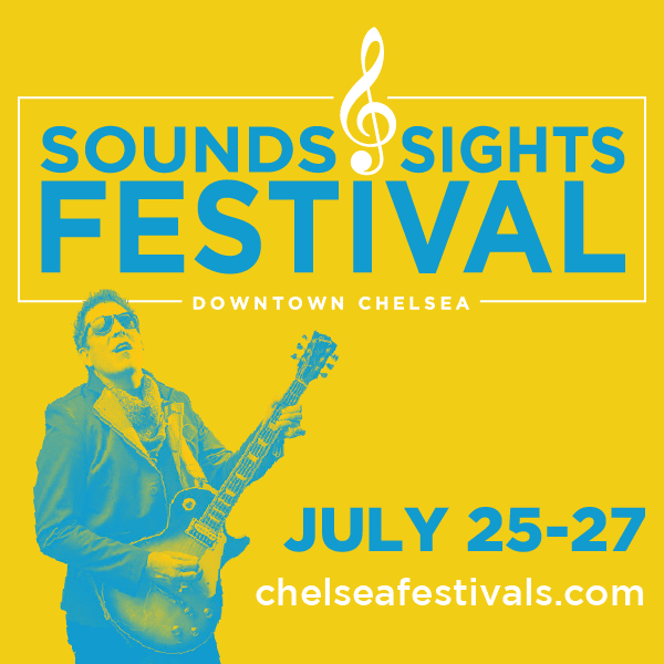 Click for more about Sounds & Sights Summer Festival in Chelsea Michigan