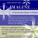 Chelsea Community Center - August 9 Imagine