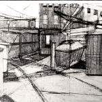 example of use of perspective in a drawing