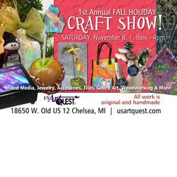 USArtQuest - Holiday Craft Show - Chelsea, Michigan