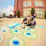 clocktower_chalk art