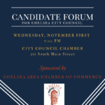 Chelsea City Council Candidate Forum