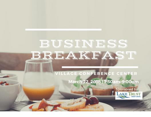 Business Breakfast – Chelsea Area Chamber of Commerce