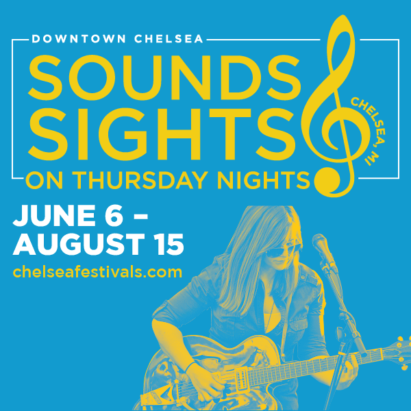 Click for more about Sounds and Sights on Thursday Nights in Chelsea Michigan