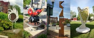 SculptureWalk Chelsea kicks off 10th year with 13 new sculptures