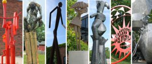 Explore the Sculpture Walk in Chelsea, Michigan