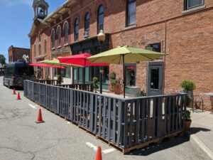 Local Eats: Patios | Curbside | Delivery | Sweet Saver Saturdays